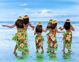 picture of hula dancers