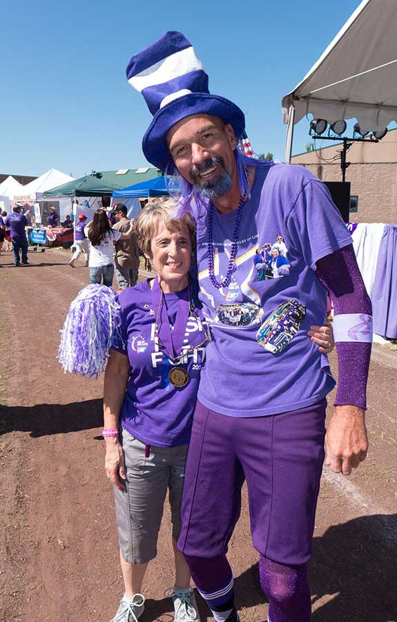 picture of Judy Verkoelen at 2014 relay for life